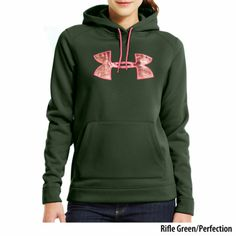 Pink Under Armour Women s UA Storm Tackle Twill Hoodie Under Armour Camo  Hoodie 2a12df06bf1f8
