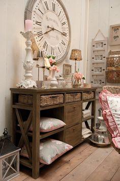 HODINY   Vintage styl dekorace do bytu