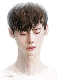 Lee Jong Suk #Fanart