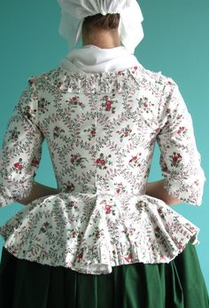 I made a new century jacket this week, mainly because I wanted to have something new to wear at Isokyrö century fair. I finished t. 18th Century Dress, 18th Century Costume, 18th Century Clothing, 18th Century Fashion, Historical Costume, Historical Clothing, 1700s Dresses, Vintage Outfits, Rococo Fashion