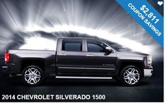 Where to Start Saving?!? Get our coupons and save big on this 2014 CHEVROLET SILVERADO 1500 !! Hurry & Save today!!