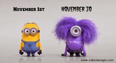 NaNoWriMo Minions This is probably very accurate, LOL. @Creshia Hall  your before and after Black Friday shopping. :)