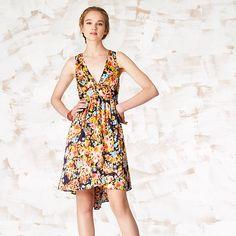 breezy floral dress $129
