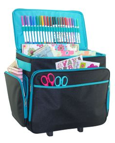 The Basic Rolling Scrapbook Case is a multipurpose tote perfect for all  crafters. Its a 09c24bdc7919b