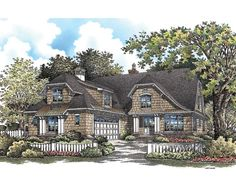 European Chalet House Plan with 2793 Square Feet and 3 Bedrooms from Dream Home Source   House Plan Code DHSW075914