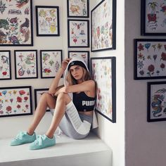 """@puma: """"We all wear our different armors and our different kind of things as we go through different situations in life, but it's about trying to be yourself in every single one of those situations.""""..."""