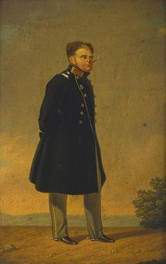 "Painting of Grand Duke Konstantin Pavlovich Romanov of Russia. ""AL"""
