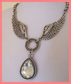 TIBETAN SILVER WINGS NECKLACE