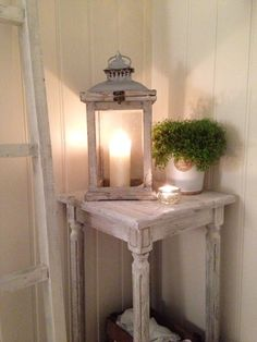You can never have enough lanterns around your home in the winter. Light up your porches, fireplaces and window sills with one of our grey washed wooden lanterns.Measurements: