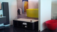 amanpuri∙1 blu∙stone™ freestanding/alcove bathtub on display at @cantuvancouver