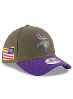 bcbacd0d0 New Era Vikings Salute To Service 39THIRTY Flex Hat