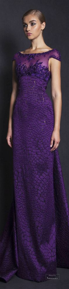 Tony Ward Spring-summer 2015. This would be an unforgettable bridesmaid dress.