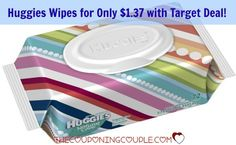 Get a HOT deal on Huggies Baby Wipes at Target! Pay only $1.37 each! You will love this deal!  Click the link below to get all of the details ► http://www.thecouponingcouple.com/hot-target-deal-huggies-baby-wipes-for-1-37/  #Coupons #Couponing #CouponCommunity  Visit us at http://www.thecouponingcouple.com for more great posts!