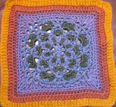 Ravelry: Velvet and Lace Square pattern by Priscilla Hewitt