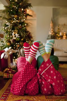It's perfectly acceptable to lounge in your PJs all day. | 15 Reasons We Wish Christmas Lasted All Year Long