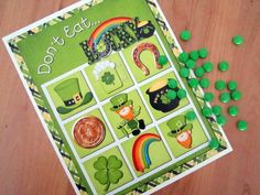 Party games at a  St. Patrick's Day Party #stpatricks #partygames