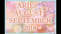 ARIES LOVE AUGUST + SEPTEMBER TAROT READING 2018! Pisces Love, Leo Love, Tarot Horoscope, Love Tarot Reading, Horoscopes, Zodiac Signs, September, Neon Signs, Youtube