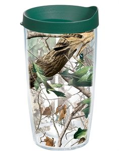 RealTree - Hardwoods  Wrap with Lid