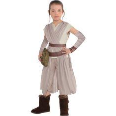 Little Girls Rey Costume - Star Wars 7 The Force Awakens