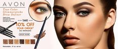 Find great deals for Avon True Color Glimmersticks Brow Definer Pencil. Shop with confidence in US today! https://avon4.me/2EdalAQ  #ultimate #gorgious #glorious #beautiful #makeupaddict #makeup #cosmetics #stunning #avon #browdefiner #glimmersticks #unitedstates