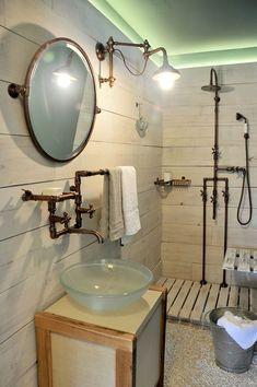 Baño equipado con Grifería Persa de Robinet