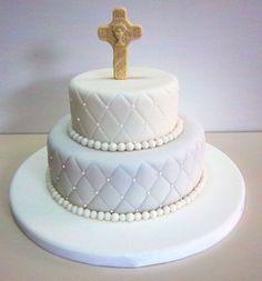Click para cerrar la imagen Baby Christening Cakes, Baptism Cupcakes, Baptism Party, Comunion Cakes, First Holy Communion Cake, Religious Cakes, Confirmation Cakes, Beautiful Wedding Cakes, Piece Of Cakes