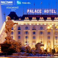 Planning a cruise or a getaway and need a stopover or a hotel night before or after your cruise? Starwood Hotels & Resorts have over 1200 hotels and resorts worldwide across 10 renowned brands. (pictured: The Westin Palace, Madrid)  #travel #Starwood #Westin #Deserve2Travel