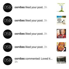 Shot out to my good friend @osrvibes! Thanks for all the love!