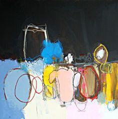 grands formats , Nadine Bourgne
