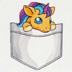 Pocket Monsters - Unicorn design (UT14408) from UrbanThreads.com