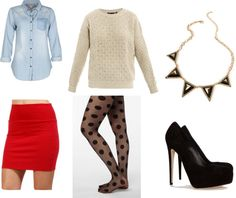"""""""Christmas Party Outfit"""" by fmayra on Polyvore"""