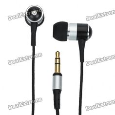 Awei ES-Q3 Fashionable 3.5 mm In-ear Cushion Style Stereo Earphone for Iphone - Silver
