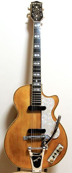 HOFNER - Club 60 (59-60 Electric model - Natural)