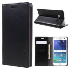 Blue Moon PU Leather Case for Samsung Galaxy