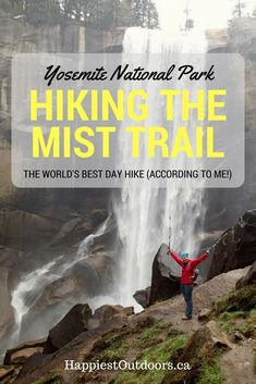 Photos to inspire your #hike on the Mist Trail in Yosemite National Park, California. #shimonfly