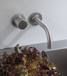 "Vola Taps, available from UK Bathrooms: sales@ukbathrooms.com -as featured in Grand Designs ""The Glass Cubes House"" episode"