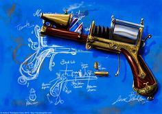 Steam laser gun par Cano