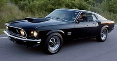 1969 BOSS 429 Ford Mustang