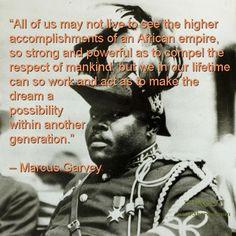 Best Black History Quotes: Marcus Garvey on Achievement