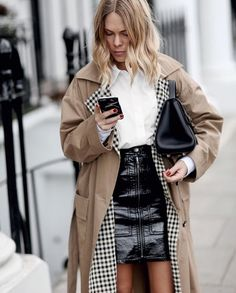 like a good trench comes with the gingham details