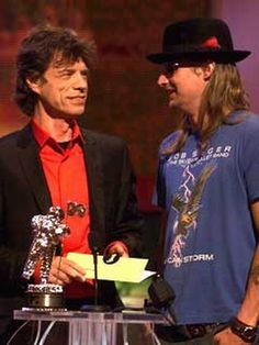 Mick Jagger and Kid Rock