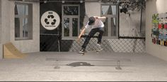 Render skateshop - conceptuele opdracht - 2de jaar