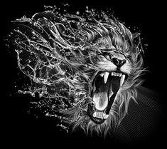 Lion Brust Tattoo, Lion Wallpaper, Profile Wallpaper, Wallpaper Pictures, Wallpaper Desktop, Wallpaper Ideas, Geniale Tattoos, Lion Pictures, Lion Images