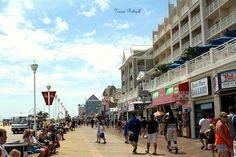 On the boardwalk at Ocean City