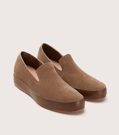 f05434751792 FEIT s Hand Sewn Slipper is a modern interpretation of a classic summer shoe  – the moccasin. The seamless upper is built from one piece of leather