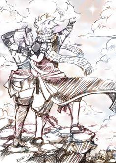Fairy Tail Natsu x Lucy - Nalu (by Fairy Tail Nalu, Fairy Tail Love, Fairy Tail Ships, Fairy Tail Family, Fairy Tail Natsu And Lucy, Fairy Tail Couples, Fairytail, Gruvia, Gajevy