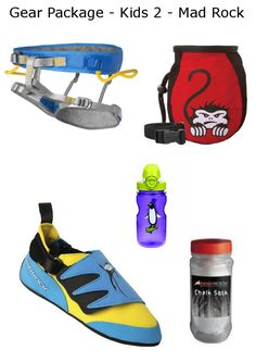 3a3affe6c5e812 Gear Package - Kids 2 - MadRock. Mad Rock