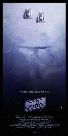 STAR WARS Trilogy Poster Art