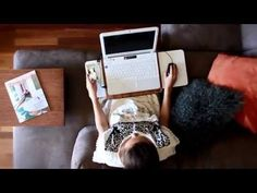 Tablio Mini desk Video, Laptop desk, stand, eco friendly, laptop stand, I mac, laptop, bamboo