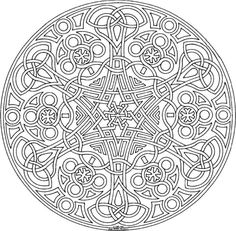 mandala coloring pages printable | 101 Ideas: 25. Mandala Coloring Pages